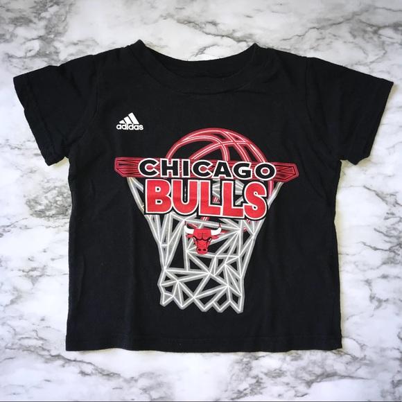 timeless design 6d46a 0bb06 Adidas Chicago Bulls Toddler Tee